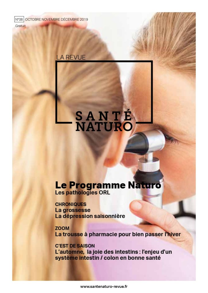 SANTE NATURO 08 DB Pages - santé naturelle intégrative - naturopathie - couverture